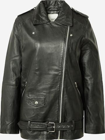 OBJECT Overgangsjakke 'Nandita' i svart