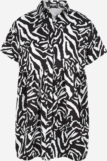 Missguided (Petite) Рокля тип риза в черно / бяло, Преглед на продукта