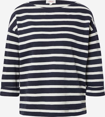 s.Oliver Shirt in Navy / White, Item view