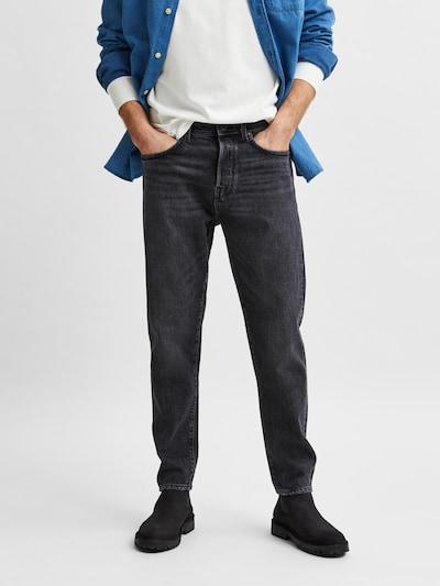 SELECTED HOMME Jeans 'Toby' in grey denim, Modelansicht