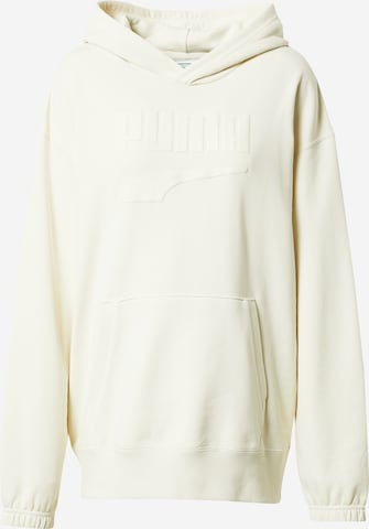 PUMA Athletic Sweatshirt 'PUMAxABOUT YOU' in Beige