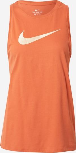 NIKE Top deportivo en rojo anaranjado / blanco, Vista del producto