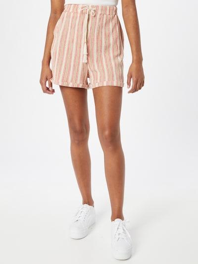 Superdry Shorts in ecru / pink / puder, Modelansicht