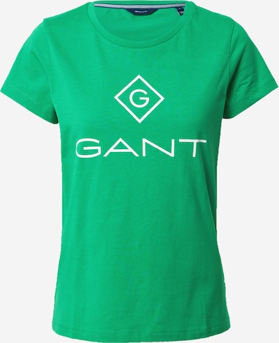 GANT Shirt in de kleur Groen / Wit, Productweergave