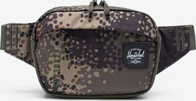 Herschel Torbica za okrog pasu 'Tour' | bež / antracit / temno zelena barva, Prikaz izdelka