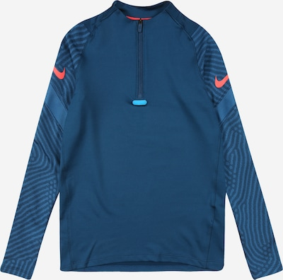 NIKE Sports sweatshirt 'Strike' in pastel blue / salmon, Item view