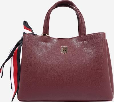 TOMMY HILFIGER Tasche in dunkelblau / rot / weinrot / weiß, Produktansicht