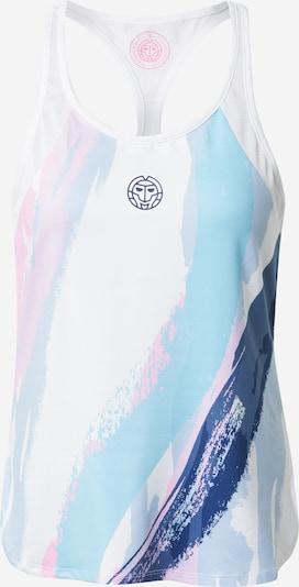 kék / világoskék / pasztell-rózsaszín / fehér BIDI BADU Sport top 'Amrei Tech', Termék nézet