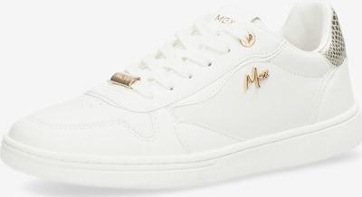 MEXX Sneaker 'GISELLE' in gold / weiß, Produktansicht