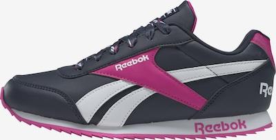 Reebok Classic Sneakers in blau / pink / weiß, Produktansicht