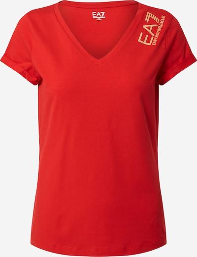 EA7 Emporio Armani T-shirt en rouge, Vue avec produit