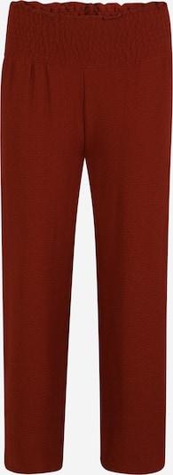 Pantaloni Pieces Petite pe maro ruginiu, Vizualizare produs