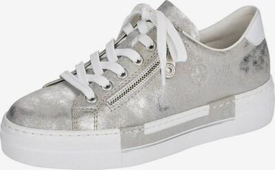 Sneaker bassa 'N49C2-40' RIEKER di colore grigio chiaro / bianco, Visualizzazione prodotti