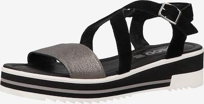 IGI&CO Sandale in taupe / schwarz, Produktansicht