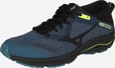 MIZUNO Sport-Schuhe 'WAVE RIDER TT 2' in navy / limette, Produktansicht