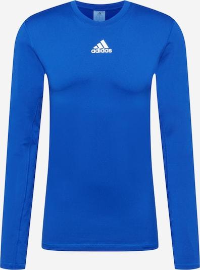 ADIDAS PERFORMANCE Λειτουργικό μπλουζάκι σε μπλε / λευκό, Άποψη προϊόντος