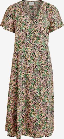 VILA Kleid 'Lovie' in gelb / grün / pink / rosa / schwarz, Produktansicht
