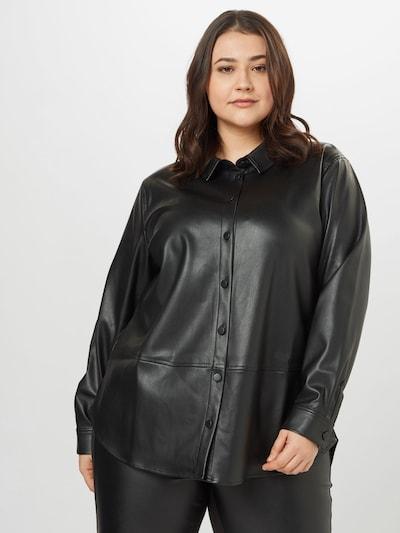 MY TRUE ME Bluse in schwarz, Modelansicht