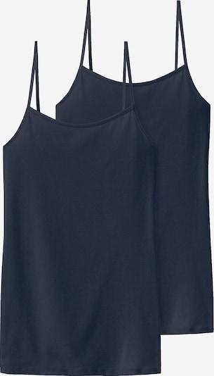 SCHIESSER Top | nočno modra barva, Prikaz izdelka