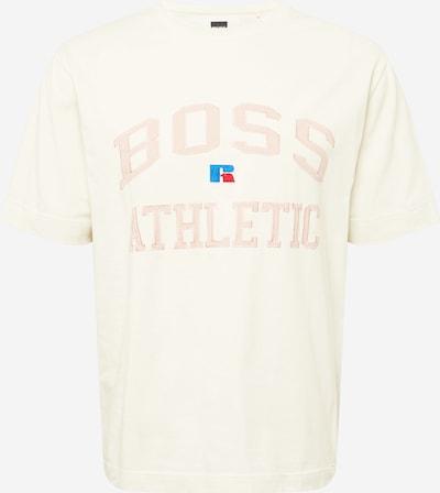BOSS Casual T-Shirt in beige / blau / rosa / rot, Produktansicht