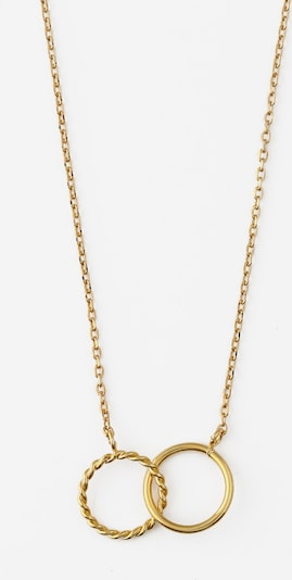 Orelia Αλυσίδα 'Rope' σε χρυσό, Άποψη προϊόντος