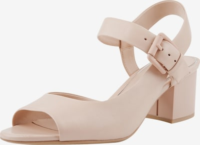 Ekonika Klassische Sandaletten mit Riemchen in beige: Frontalansicht
