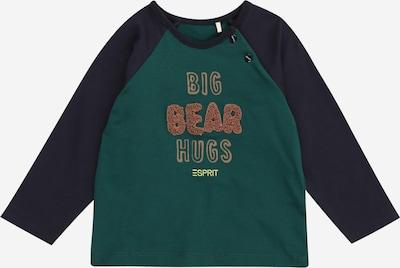 ESPRIT Shirt in de kleur Marine / Karamel / Lichtbruin / Smaragd / Kiwi, Productweergave