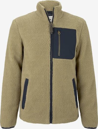 TOM TAILOR Jacke in beige / braun / schwarz, Produktansicht
