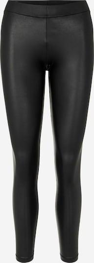 PIECES Leggings 'PCNEW SHINY LEGGINGS NOOS' en noir, Vue avec produit