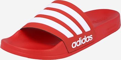 ADIDAS PERFORMANCE Pistokkaat 'ADILETTE' värissä punainen / valkoinen, Tuotenäkymä