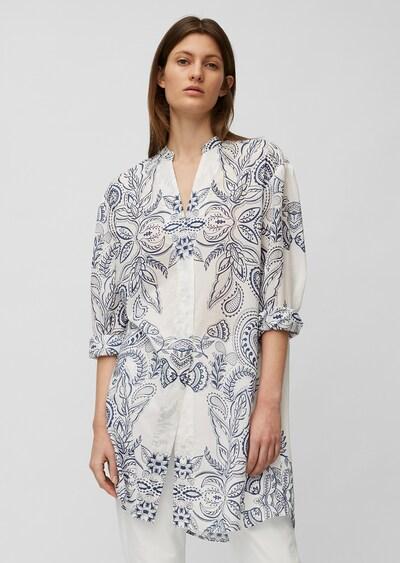 Marc O'Polo Kleid in blau / weiß, Modelansicht