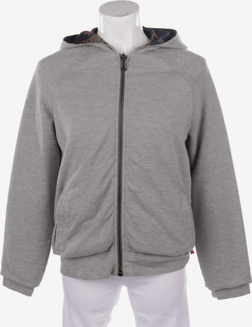 BOSS ORANGE Sweatshirt & Zip-Up Hoodie in S in Grey