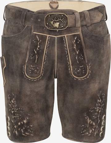 SPIETH & WENSKY Traditional Pants 'Pinzgau' in Black