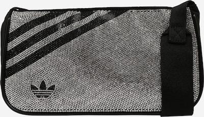 ADIDAS ORIGINALS Umhängetasche in schwarz / silber, Produktansicht