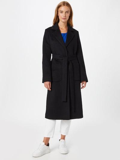 HUGO Mantel 'Mesua' in schwarz, Modelansicht