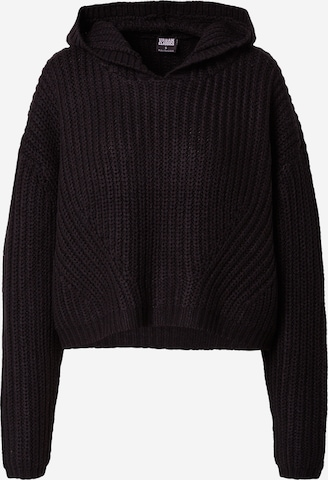 Urban Classics Pullover in Black