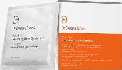 Dr Dennis Gross Körperpeeling in weiß, Produktansicht