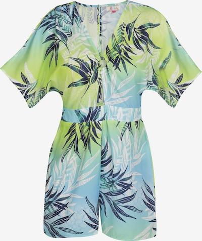 IZIA Jumpsuit in de kleur Lichtblauw / Gemengde kleuren, Productweergave