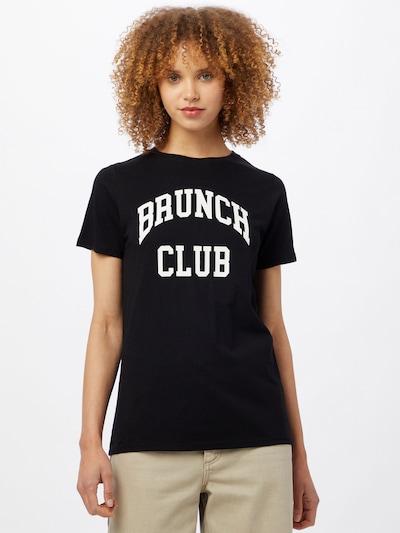 NEW LOOK T-shirt en noir / blanc: Vue de face