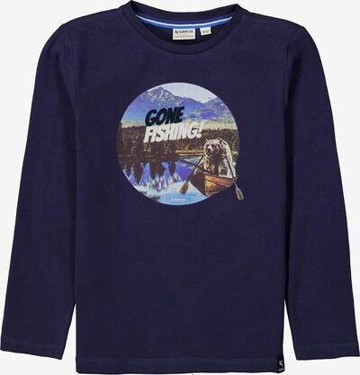 GARCIA Shirt in Navy / Royal blue / Dark brown / Black / White, Item view