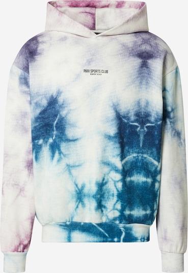 PARI Sweatshirt 'SPORTS CLUB' in Blue / Purple / White, Item view
