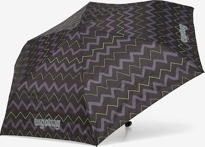 ergobag Regenschirm in grau / grün, Produktansicht
