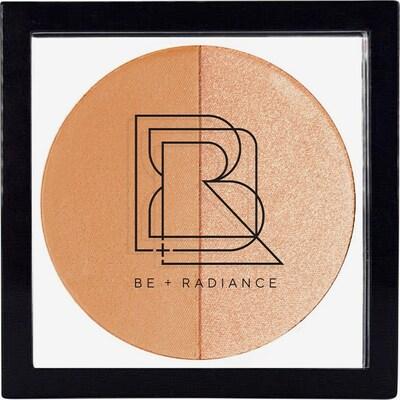 BE + Radiance Puder + Highlighter 'Set + Glow  Probiotic' in beige / gold, Produktansicht
