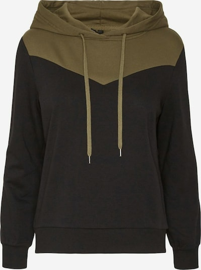 VERO MODA Sweatshirt in Khaki / Black, Item view
