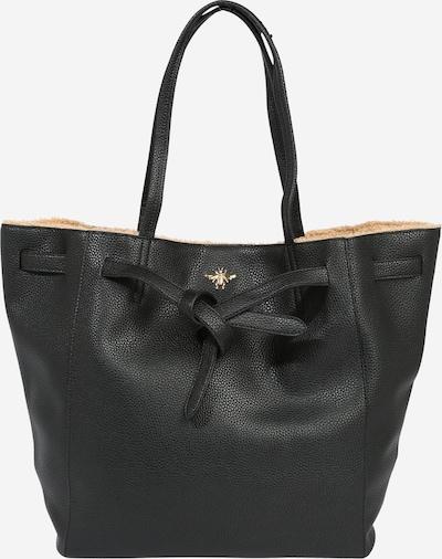 STUFF MAKER Shopper  'DRAGONSPOND' in sand / schwarz, Produktansicht