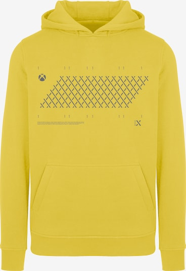 ABOUT YOU x XBOX Sweatshirt ' X Style' in limone / anthrazit, Produktansicht