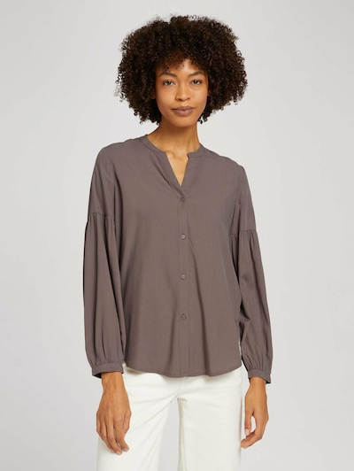MINE TO FIVE Bluse in taupe, Modelansicht