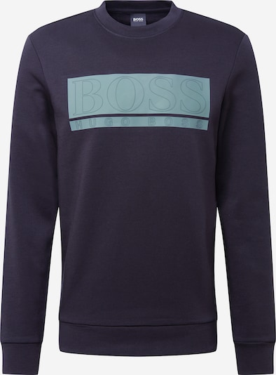 BOSS ATHLEISURE Sportisks džemperis 'Salbo 1' debeszils / tumši zils, Preces skats