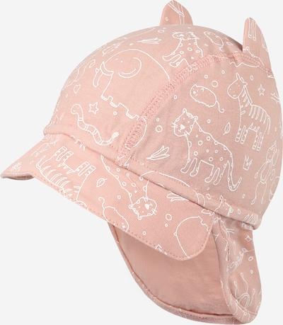 Pălărie Hust & Claire pe roz pal / alb, Vizualizare produs