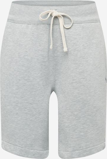 POLO RALPH LAUREN Pantalon en bleu roi / gris clair, Vue avec produit